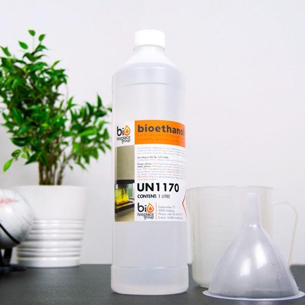 Fabulous Bioethanol - Ethanol mit 96,6% in 1L Flasche und 10L Kanister! TD12